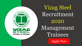 Rashtriya Ispat Nigam Limited (RINL), the Corporate entity of Visakhapatnam Steel Plant (VSP) has released a recruitment notification for the post of Management Trainees (Technical) on its Official Website.
