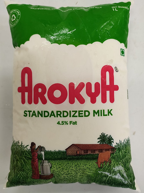 Arokya Standardized Milk - 1L