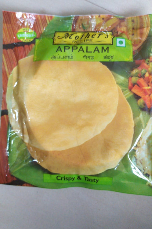 Mother's Recipe Appalam - Crispy & Tasty 100g