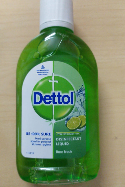 Dettol Disinfectant Liquid - Lime Fresh - 200ml