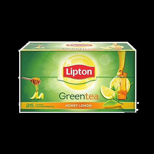 Lipton Green Tea Bags - Honey Lemon 25pcs