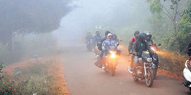 Many people went on a trekking expedition to Lambasingi to have a feel of the foggy mornings