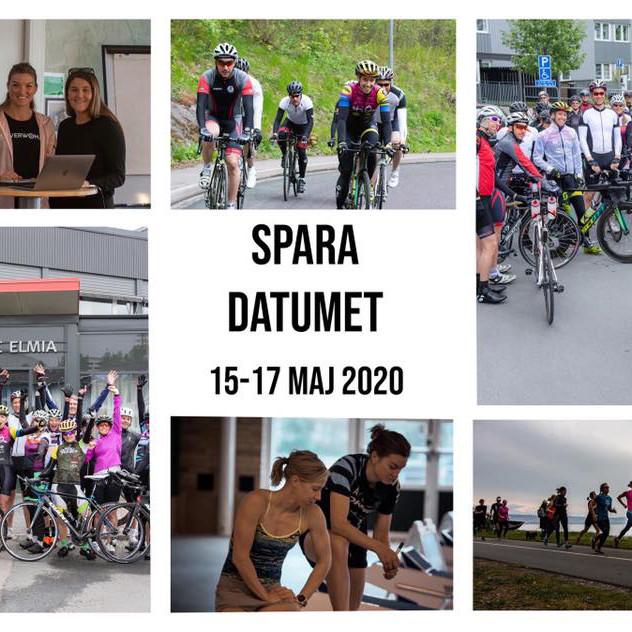 15-17 maj: Triathlonläger med Lisa Nordén