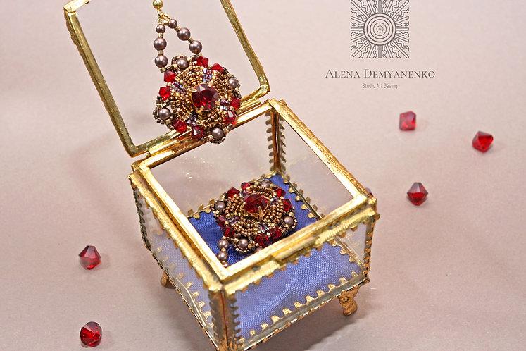 Коллекция Версаль серьги