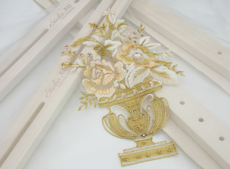 Haute Couture Embroidery: The Art of Ecole Lesage Level 1
