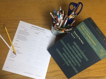 Testing evaluation supplies