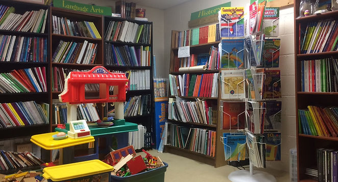 Growing scholars testing center play area and curriculum