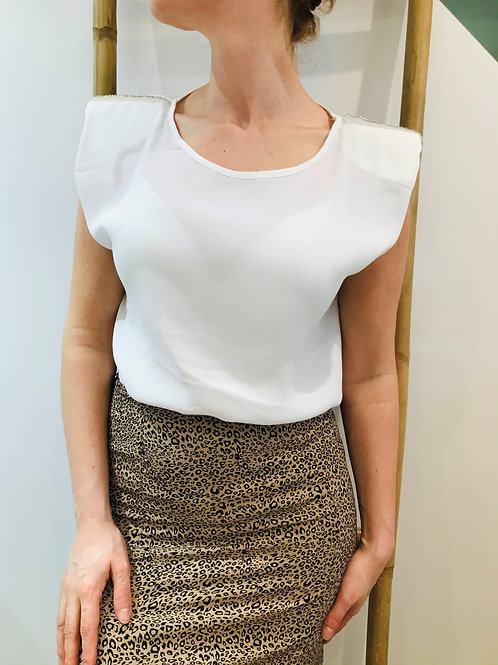 Blouse Strass