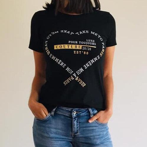 T-shirt Take me to Paris