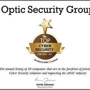 OSG named 2021 Top Cyber Security Provider - CIO Outlook Magazine.