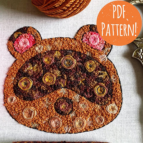 Floral Pop Nook PDF Pattern