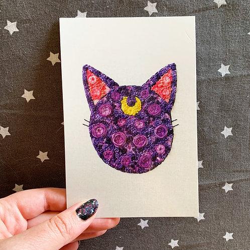 Floral Pop Luna 4x6 Embroidery Print