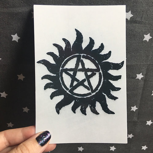 Floral Pop Supernatural 4x6 Embroidery Print