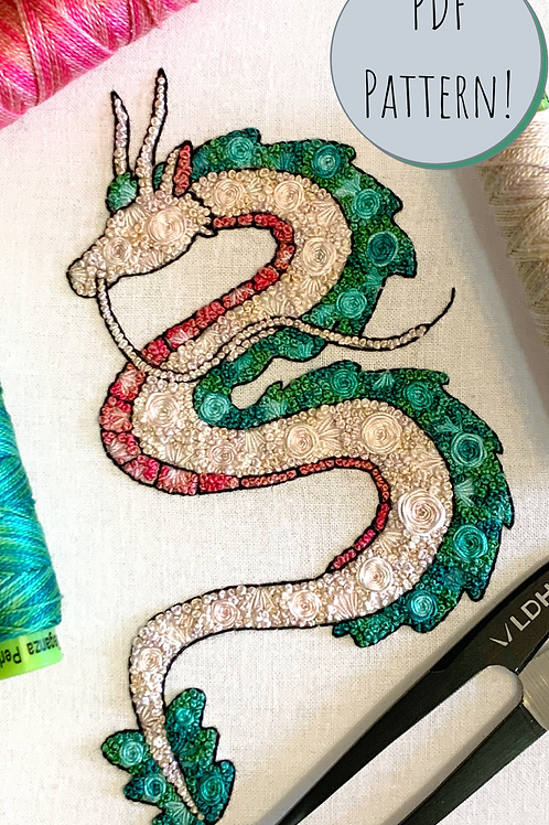 Floral Pop Haku PDF Embroidery Pattern