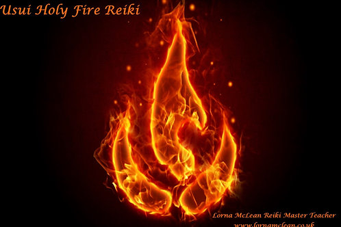 Usui Holy Fire Reiki Master Teacher - three days course