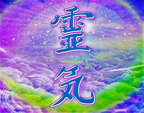 1st Degree Usui/Holy Fire®  III Reiki Class