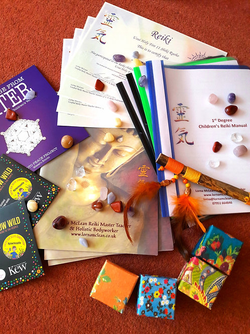 Children & Teenagers 1st degree Reiki Workshop ~ A Gift for Life