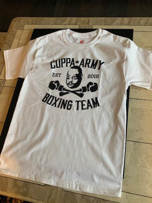 OFFICIAL CUPPA ARMY BOXING SHORT SLEEVE T