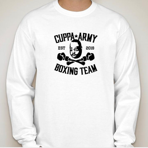OFFICIAL WHITE CUPPA ARMY BOXING TEAM