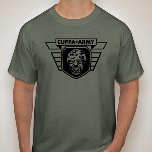 GREEN FATIGUE OFFICIAL CUPPA ARMY LOGO