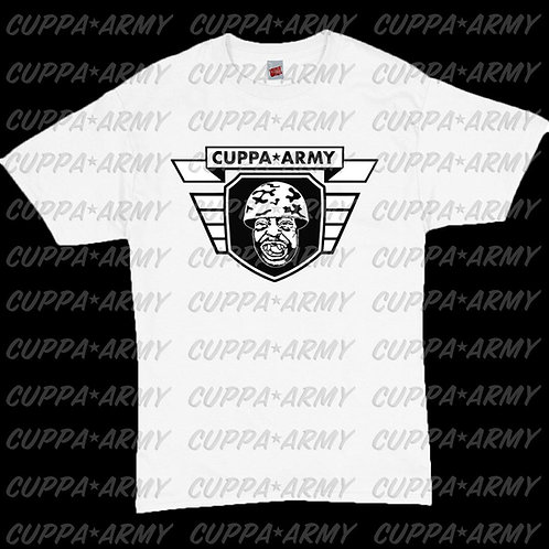 OFFICIAL CUPPA ARMY LOGO T-SHIRT