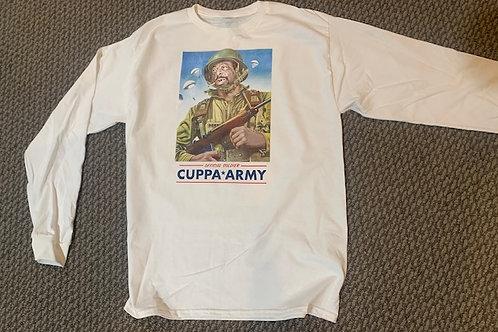 CUPPA ARMY LONG SLEEVE ORIGINAL WHITE
