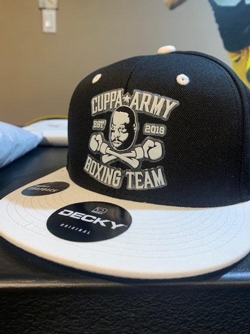 CUPPA ARMY BOXING HAT 2-TONE  FLAT BILL SNAPBACK