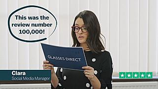 Glasses Direct Trustpilot Reviews 1 of 2