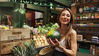 Sandra Lopez - Watermelon Salad Making Video