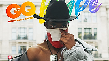 Lil Nas X Cover Loop for British GQ Magazine (teaser for the main video)