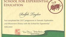 Somatic Exploration and Movement Shiatsu Certificate