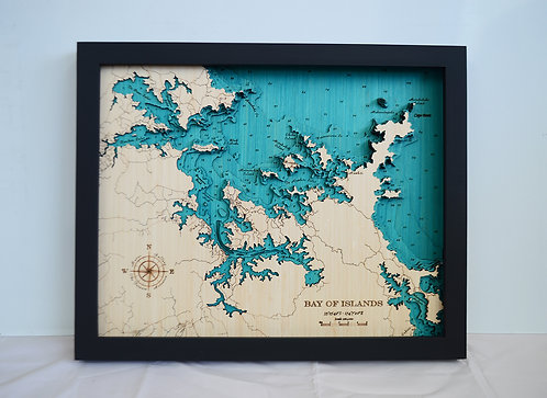 Bay of Islands Med 42 x 52