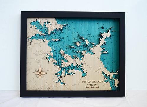 Bay of Islands Lge 79 x63