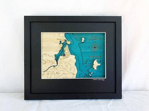 Tairua Harbour / Pauanui Sml 30 x 38