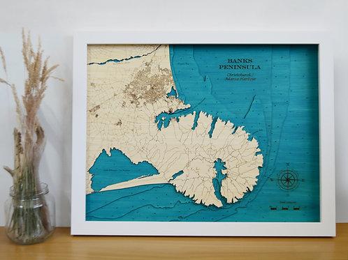 Banks Peninsula Lge 79 x 63