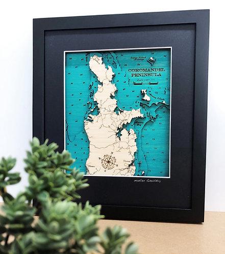 Coromandel Peninsula Sml 30 x 38cm