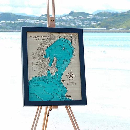 Wellington Harbour Med 42 x 52