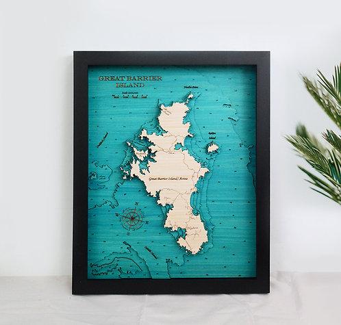 Great Barrier Island Med 42 x 52