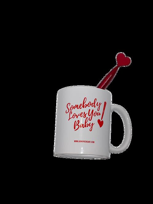 Somebody Loves You Baby Mug