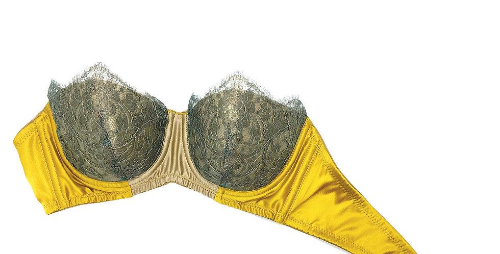 Strapless Bra - Clyfford Yellow