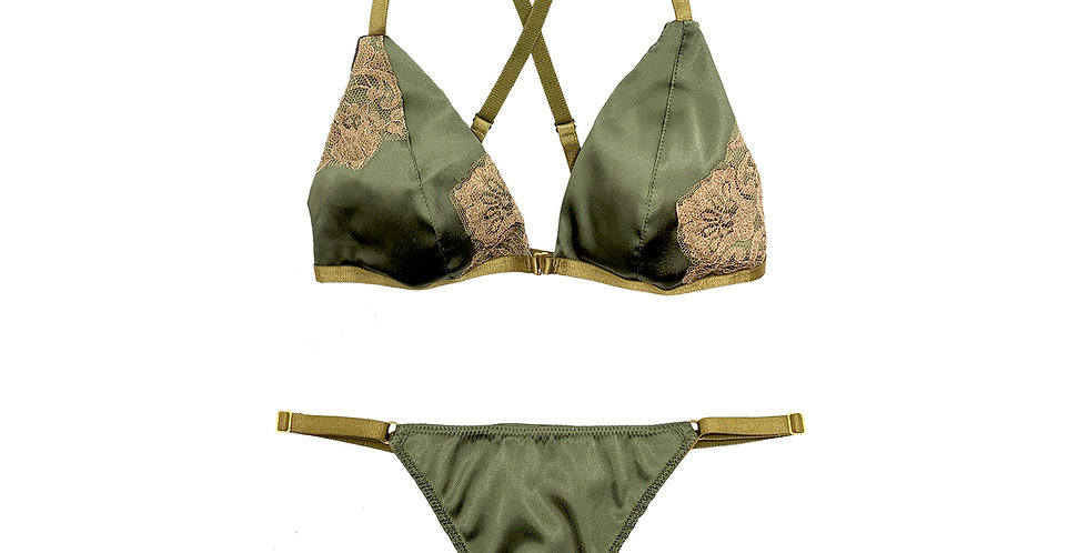 Lace Weekend Set - Verde