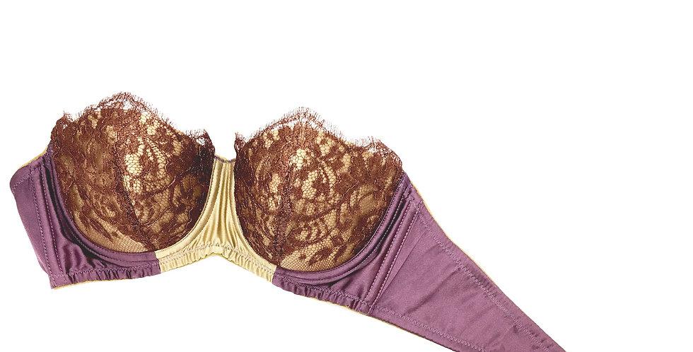Strapless Bra - Lefkada Purple