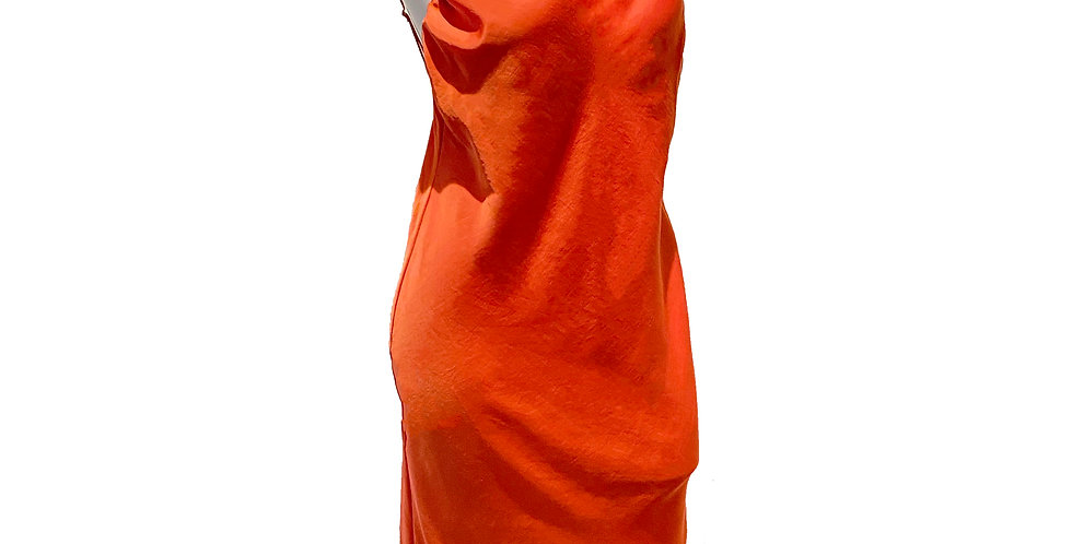 Garden Dress - Arancia Rosso