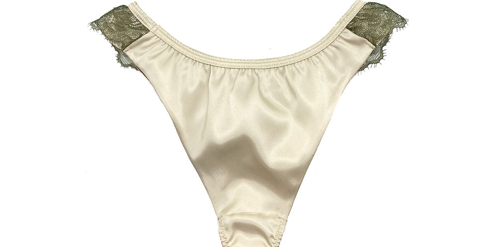 Lace Back Brazilian - Bianco (gr)