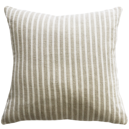 Spencer  - Ivory Stripes with feather insert.