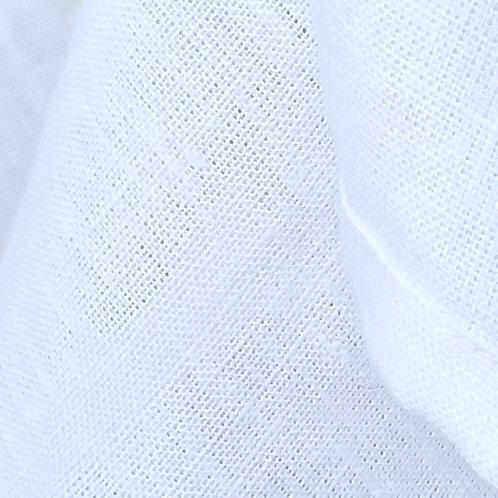 White Linen Table Runner