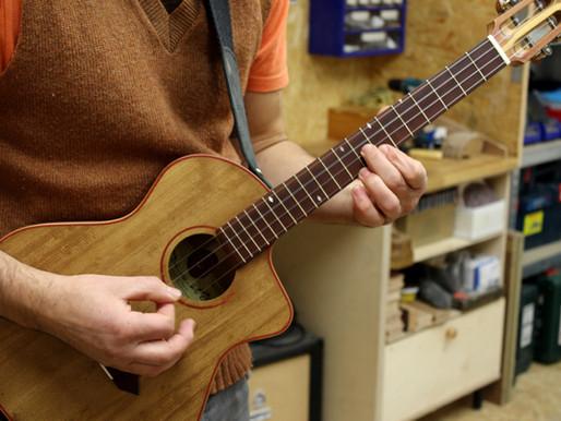 Kleines Instrument für großen Künstler!