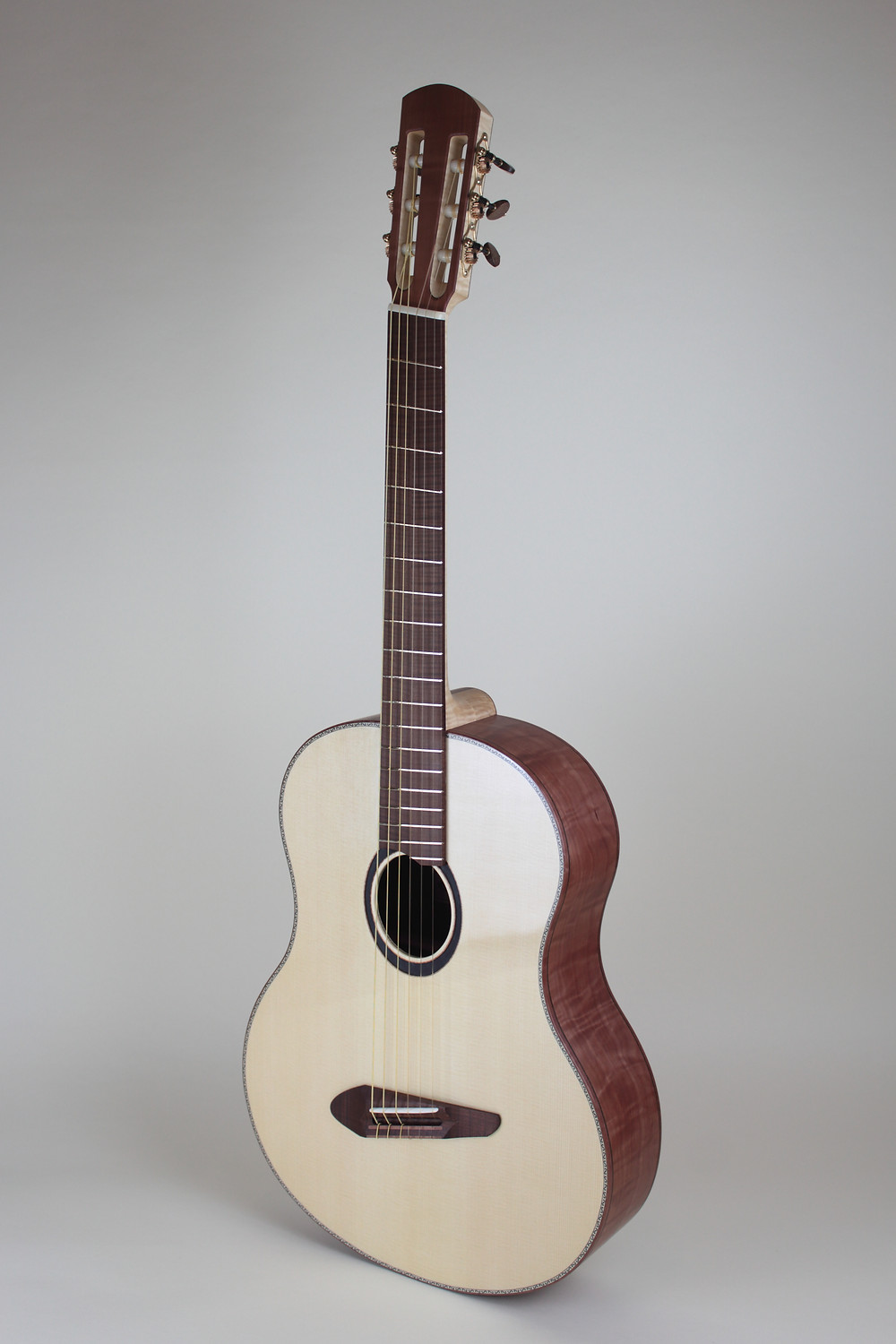 baritone ukulele torrefied local wood