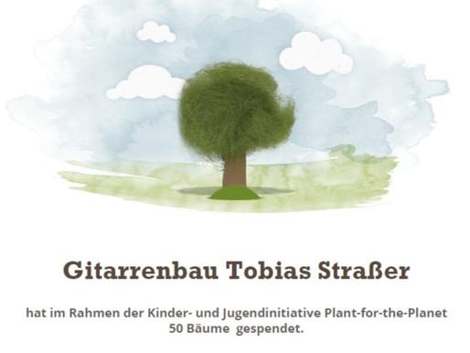 Gitarre verkauft - Bäume gepflanzt