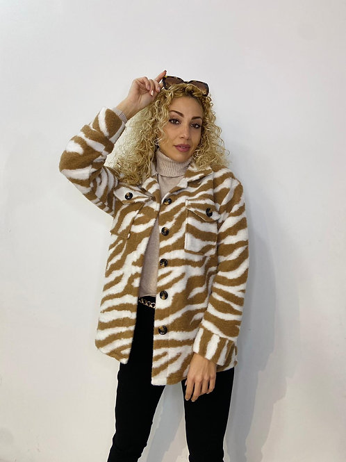 Zebra Shacket
